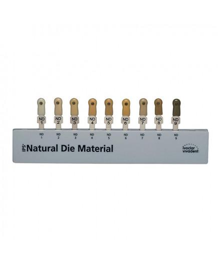 IPS Natural Die Material Massenfarbschl,---Расцветка культевых материалов