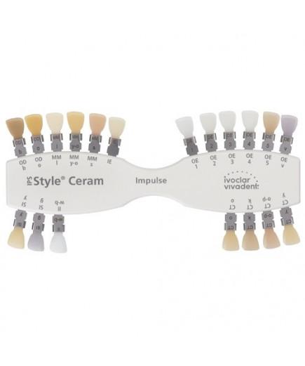 Расцветка IPS Style Ceram Shade Guide Impulse