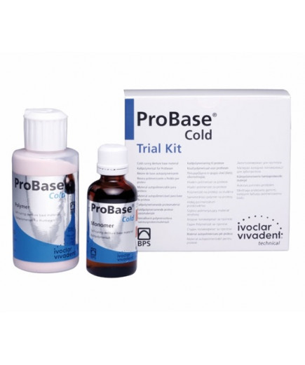 Пластмасса холодной полимеризации - ProBase Cold Trial Kit clear